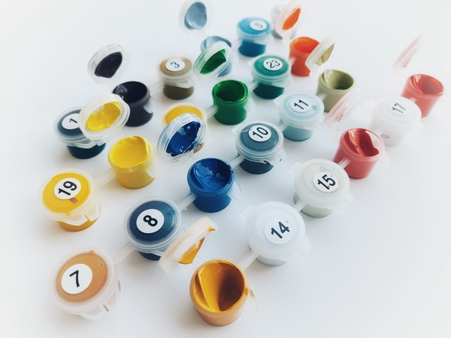 Paint by numbers selection criteria example
