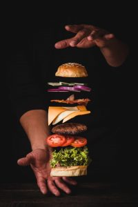 Burger upsize