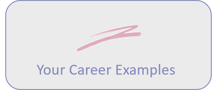 your career examples